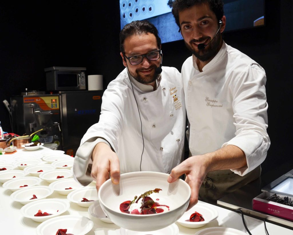 Showcooking Sigep 2020 Gelateria